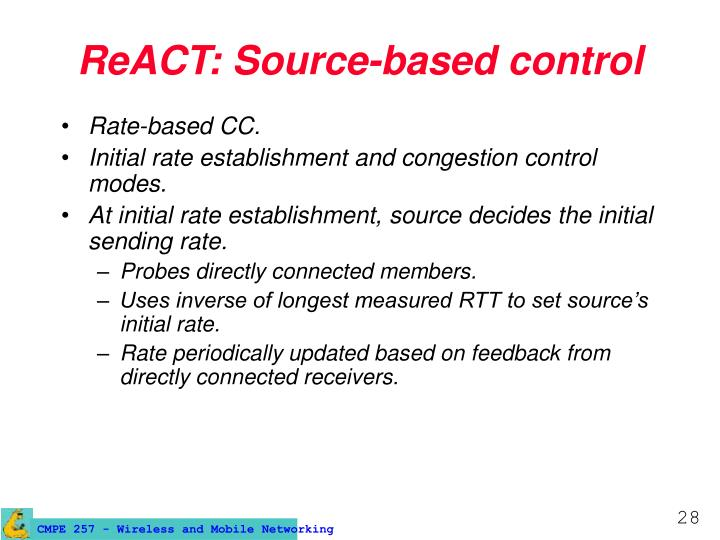 ReACT: Source-based control