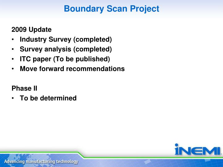 Boundary Scan Project