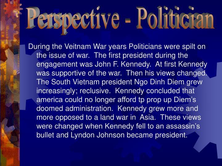 Perspective - Politician