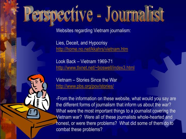 Perspective - Journalist