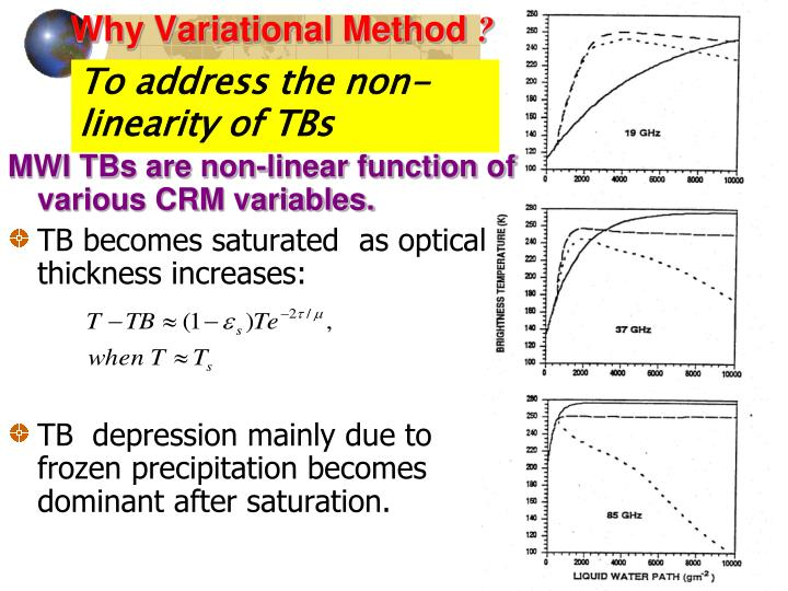 To address the non-linearity of TBs