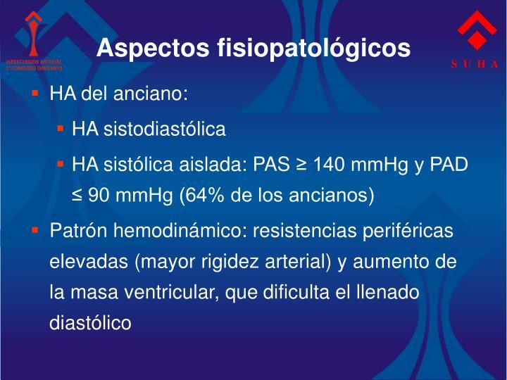 Aspectos fisiopatológicos