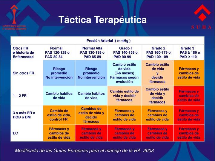 Táctica Terapéutica