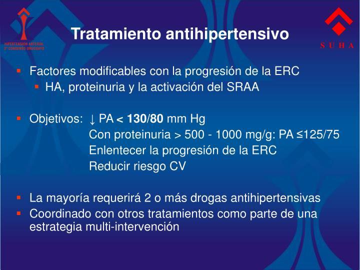 Tratamiento antihipertensivo