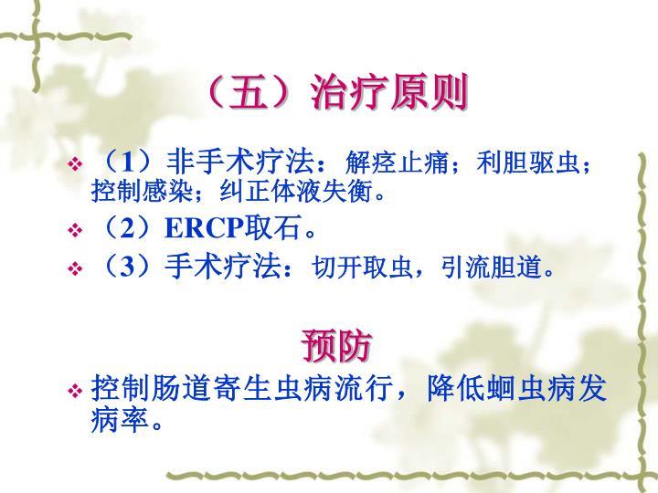 (五)治疗原则