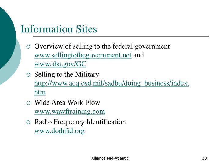 Information Sites