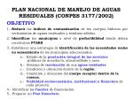 plan nacional de manejo de aguas residuales conpes 3177 2002