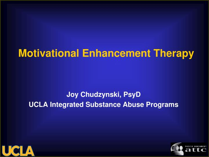 motivational enhancement therapy n.