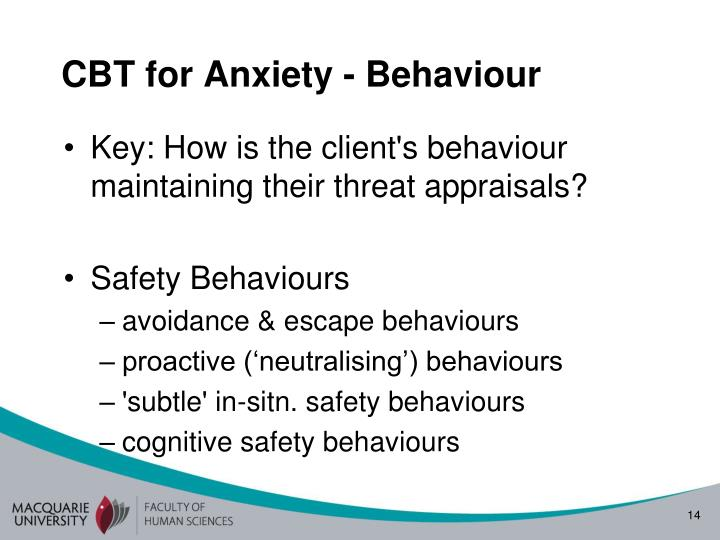 CBT for Anxiety -