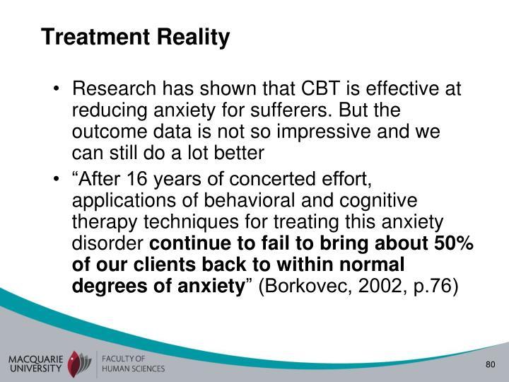 Treatment Reality