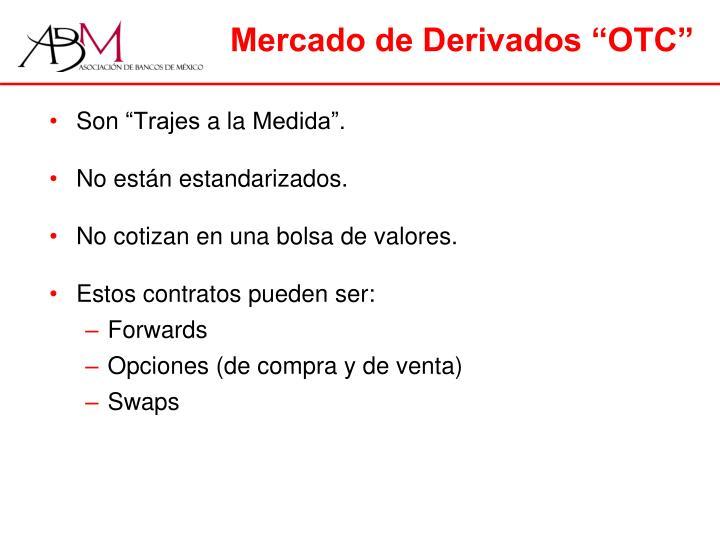 """Mercado de Derivados """"OTC"""""""