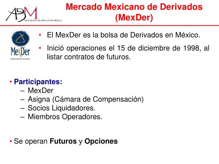 Mercado Mexicano de Derivados