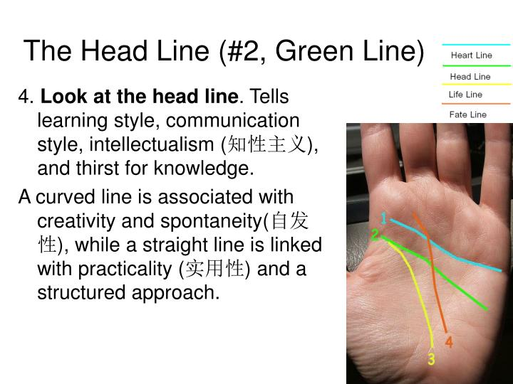 The Head Line (#2, Green Line)