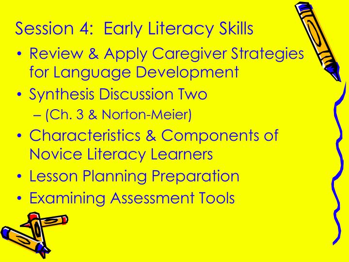 session 4 early literacy skills n.