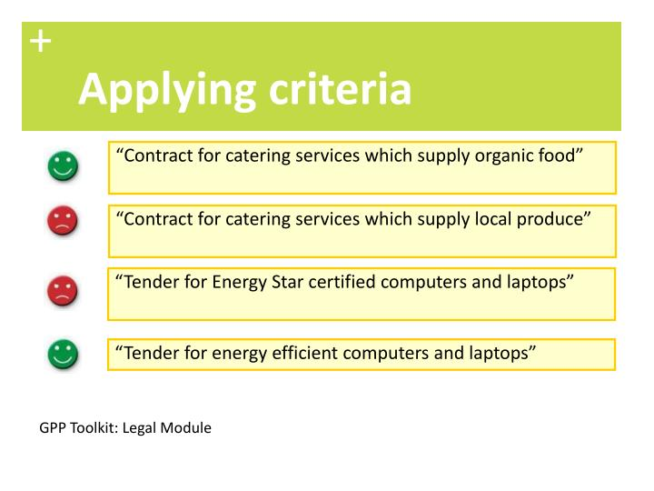 """""""Contract for catering services which supply organic food"""""""