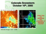 colorado snowstorm october 10 th 2005