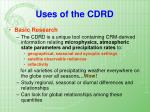 uses of the cdrd1
