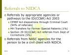 referrals to nidca