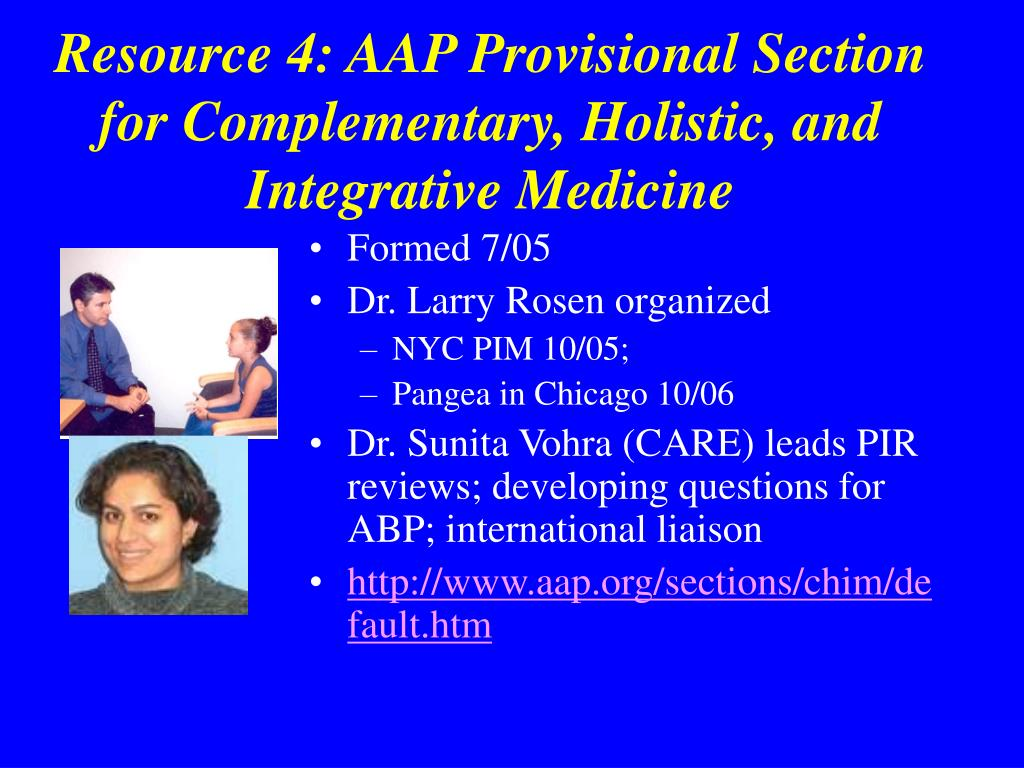 PPT - Overview of Complementary, Holistic and Integrative