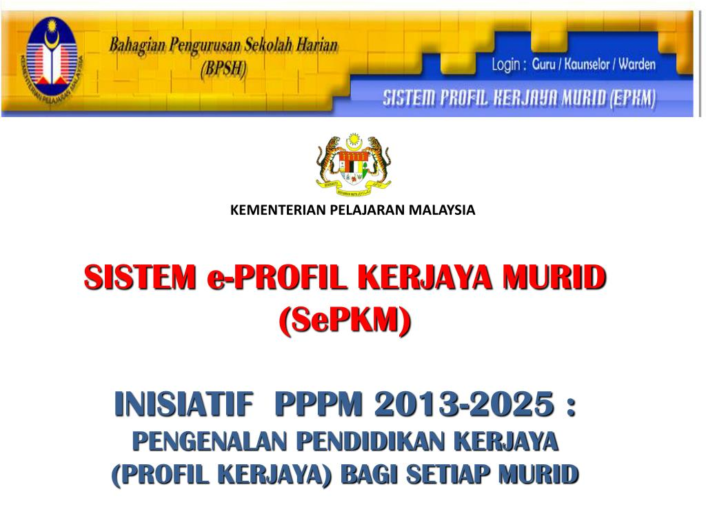 Ppt Kementerian Pelajaran Malaysia Powerpoint Presentation Free Download Id 4802215