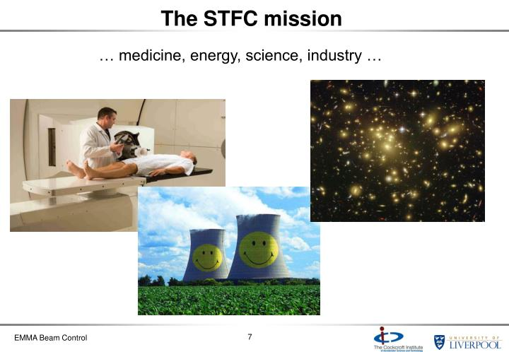 The STFC mission