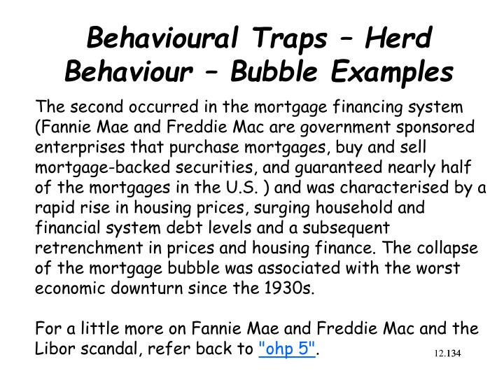 behavioral finance in herd behavior essay Herd behavior • we have a tendency to mimic the actions of the larger group • crowd psychology is high quality and affordable essays for behavioral biases.