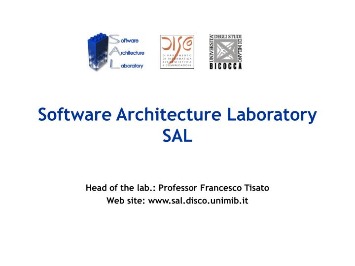 software architecture laboratory sal n.