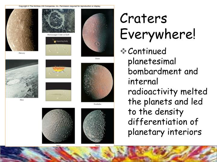Craters Everywhere!