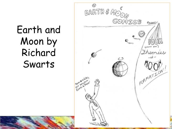 Earth and Moon by Richard Swarts