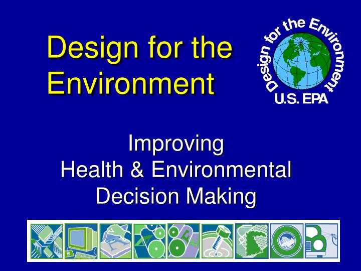 design for the environment n.