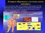 el impacto hipertensivo y los lechos arterio arteriolares28