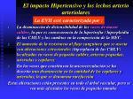 el impacto hipertensivo y los lechos arterio arteriolares4