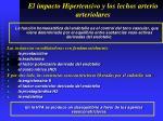 el impacto hipertensivo y los lechos arterio arteriolares9