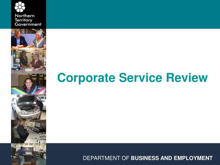 corporate service review n.