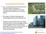 linnastumine eestis