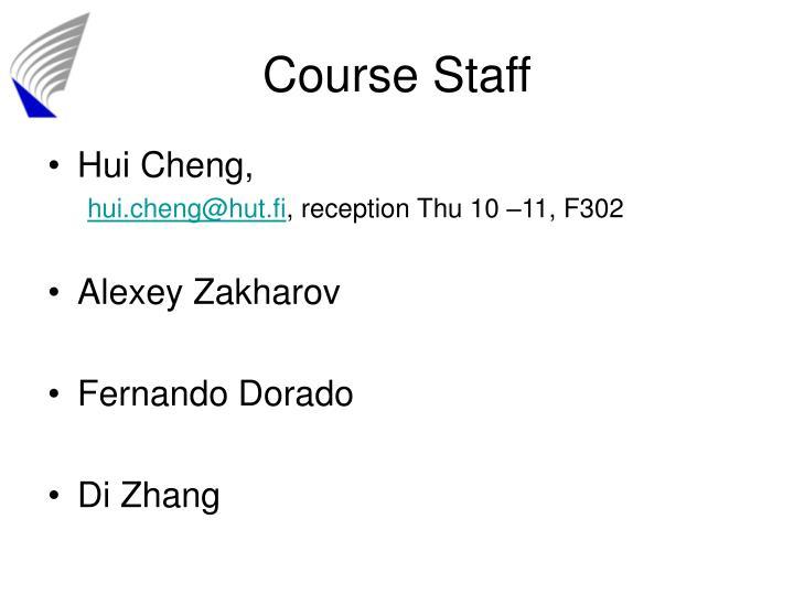 Course Staff
