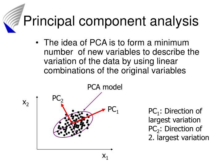 PCA model