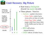 crash recovery big picture