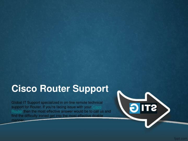 cisco router support n.