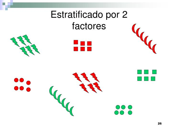 Estratificado por 2 factores