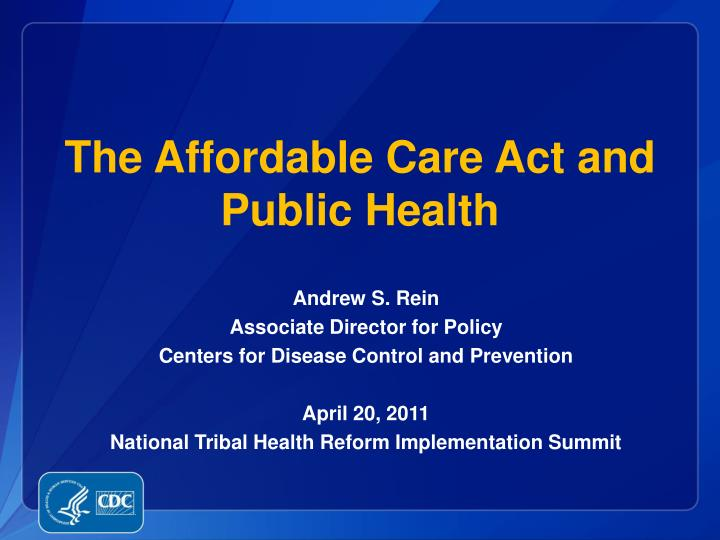 the affordable care act and public health n.