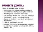 projects contd1