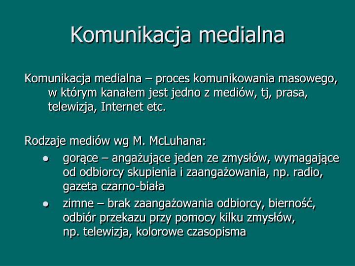 Komunikacja medialna