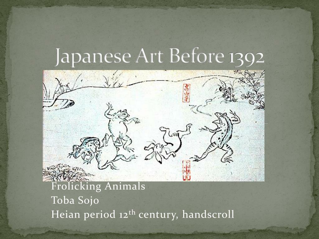 japanese art before 1392 n.