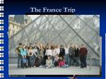 the france trip