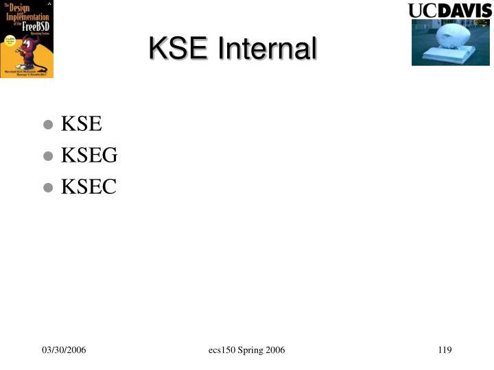 KSE Internal