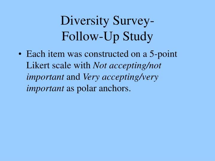 Diversity Survey-