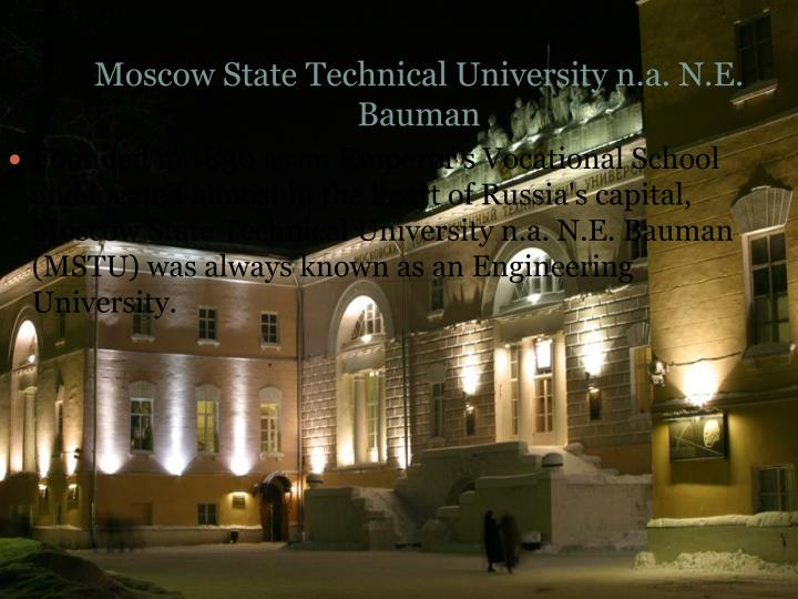 Moscow State Technical University