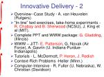 innovative delivery 2