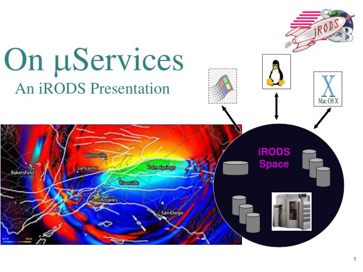 on m services an irods presentation n.
